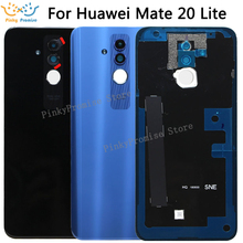 """Originale Per 6.3 """"Huawei Mate 20 Lite Vetro Posteriore della Batteria di Caso Della Copertura Posteriore + Obiettivo di Vetro Per Compagno di 20 lite Porta Posteriore"""