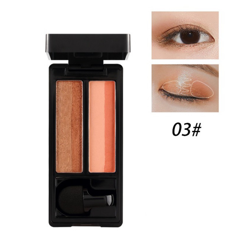 UBUB DOUBLE COLOR EYESHADOW PALETTE (9)