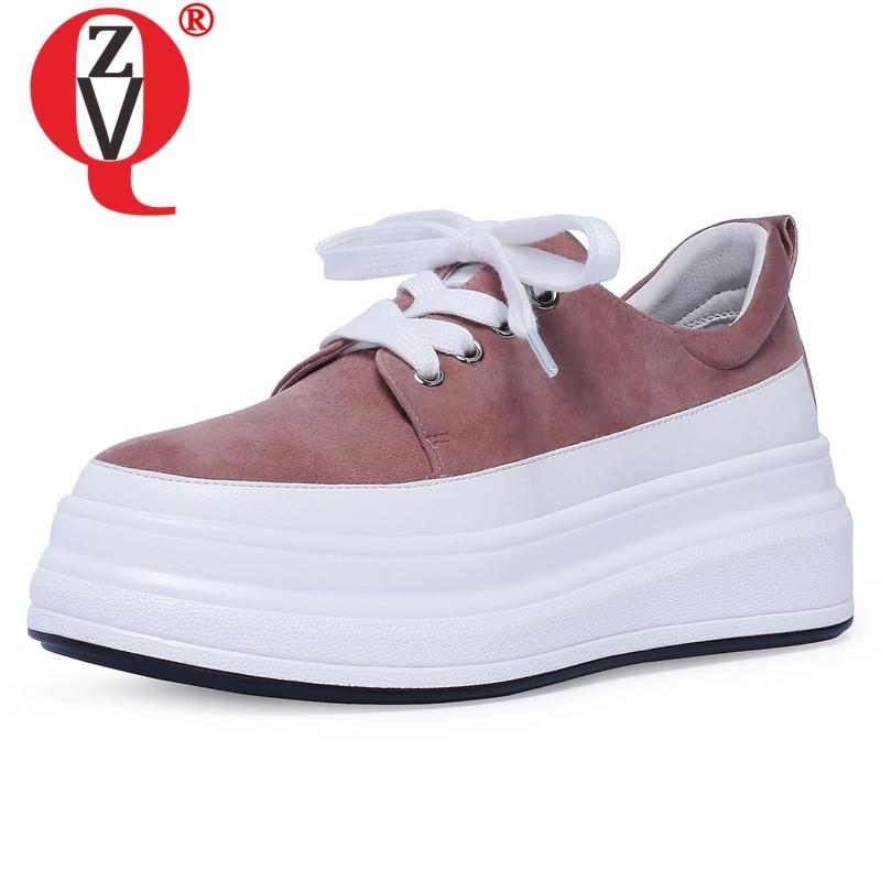 Ayakk.'ten Kadın Pompaları'de BAĞLANTı KÖPRÜSÜ ayakkabı kadın 2019 bahar yeni özlü rahat yuvarlak ayak çocuk süet kadın pompaları dış med takozlar platformu artı boyutu ayakkabı'da  Grup 1