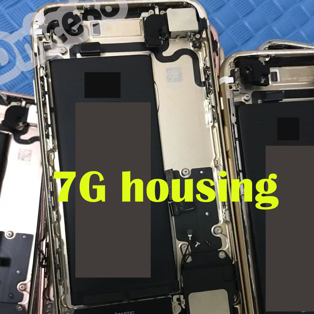 For iphone 7G Original mobile phone housing ,including camera& battery&bell and so on parts,good quality mobile phone back cover