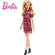 Original Brand Barbie Dolls Fashionistas with Blonde Hair Toys for Children Reborn Baby Girls Doll Toy Beautiful Princess Boneca
