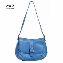Leatury Fashion Brand Cow Leather Women's Handbags Shell Should Messenger Bags Luxury Genuine Leather Female Crossbody Bag