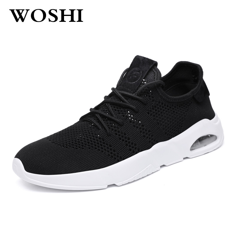 men Sneakers Breath Jogging men sports running Shoes Fly Weave Mens Trainers Walking Sport Gym Shoes Men Zapatillas Hombre k2
