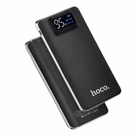 HOCO Large Capacity 10000mAh Practical Ultra Thin Power Bank Mobile Powerbank Fast Charger With LED Flashlight