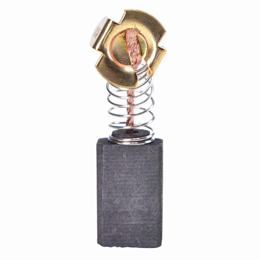 Zlinkj 10 pçs 6.5x7.5x13.5mm mini broca moedor elétrico substituição escovas de carbono peças reposição para motores elétricos ferramenta rotativa
