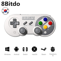 8Bitdo Gamepad for Nintendo Switch Windows macOS Android Controller Joystick Wireless Bluetooth Game Controller SF30/SN30 Pro