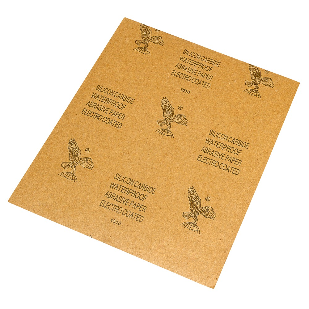 8 Sheets RMC CP34 Sandpaper Waterproof Sand Paper 100Grit 9