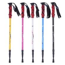 Pioneer wolf's fang 3 ultra light hiking stick cane travel Nordic walking sticks ski walking poles Trekking Hiking Mountain Hike