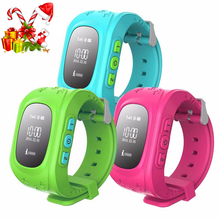 Smart Phone Watch Children Kid Smartwrist Q50 GSM GPRS GPS Locator Tracker Anti-Lost Smartwatch Child Guard for iOS Android