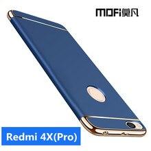 Xiaomi Redmi 4x Pro Чехол Жесткий крышка полное покрытие Защитная совместных САППУ MOFI оригинальный Xiaomi Redmi 4x Чехол черный 5.0