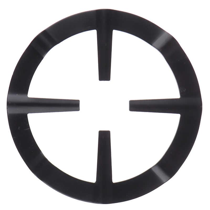 1pcs שחור ברזל גז כיריים סיר צלחת קפה סיר Stand מפחית טבעת מחזיק