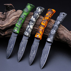 Cool ghillie g131 a folding knife camping survival knife mini blade pocket fruit knife abs ghost.jpg 250x250