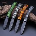 Enfriar Ghillie G131-A cuchillo plegable que acampa cuchillo de la supervivencia, Mini bolsillo de hoja de cuchillo de la Fruta, ABS mango Fantasma hermoso regalo cuchillo
