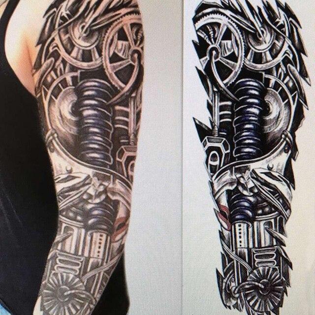 Tatoo 3d Tahan Air Lengan Kaki Tubuh Seni Tato Tatouage Tatuagem