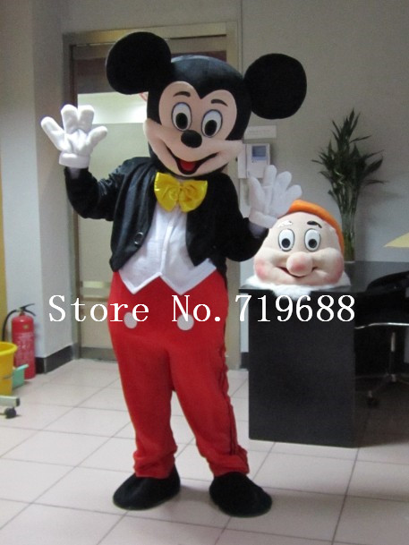 Hot Penjualan Dewasa Party Dress Versi Minnie Kostum Maskot Pink - Kostum - Foto 2