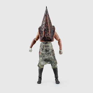Image 3 - Hot Movie Game Figma SP 055 Red Pyramid Thing Pyramid Head Silent Hill 2 Action Figure 15CM