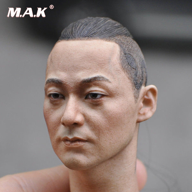 KUMIK18-9 Asia Male 1 6 Man Head Sculpt F hot toys phicen 12
