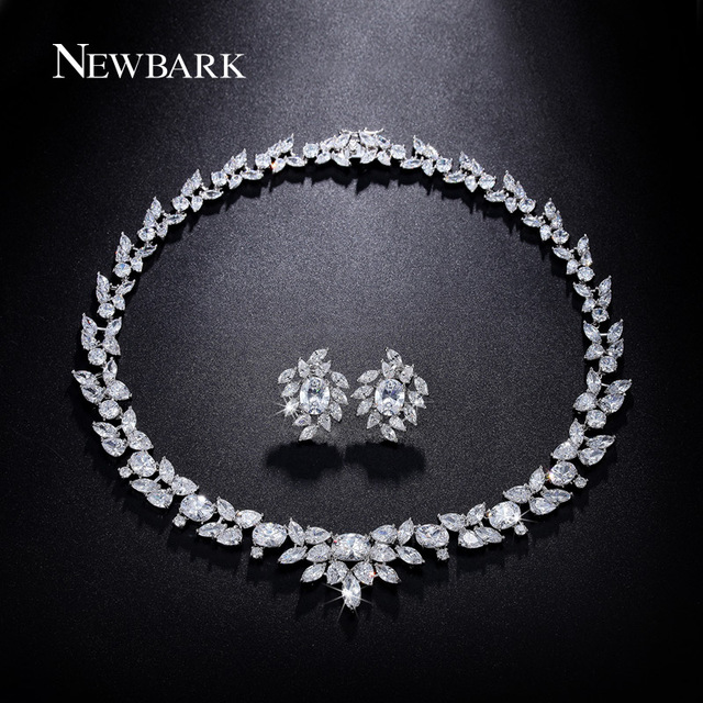 Luxury Zirconia Jewelry Set