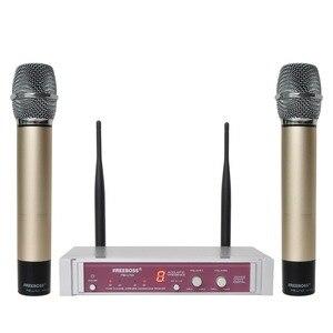 Image 5 - FB U10 Dual Way Digital UHF Wireless Microphone with 2 Metal Handhelds