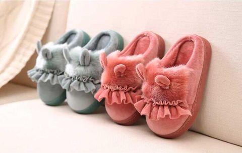 sapatos de algodao engracado chinelo princesa sapatos para meninas bebe