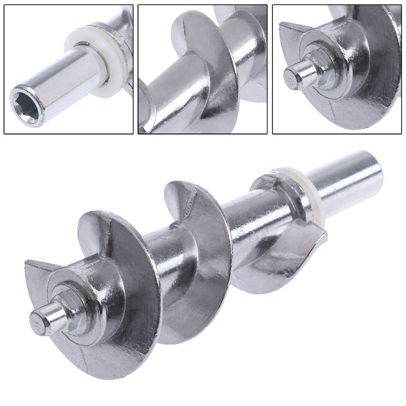 1PC Meat Grinder Screw Mincer Meat Grinder Parts Meat Grinder Bades