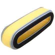 Replacement Oval Air Filter For HR214 HR194 HR195 HRA214 GV150 With Sponge Lawn Mower Parts Mayitr New цены
