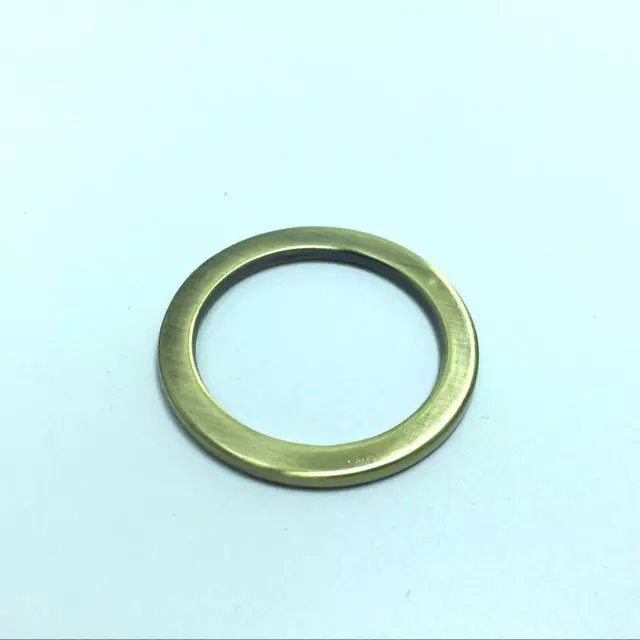 1 1/2 Inch (38mm) Metal Flat O Rings Silver -in Bag Parts ...
