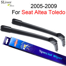 SLIVERYSEA Windscreen Wiper For Seat Altea Toledo 2005-2009 26''+26'' Wipers Blade Accessories Auto Windshield Prices,CPK все цены