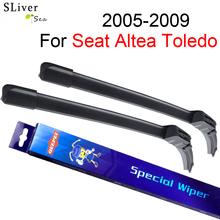 SLIVERYSEA Windscreen Wiper For Seat Altea Toledo 2005-2009 26''+26'' Wipers Blade Accessories Auto Windshield Prices,CPK