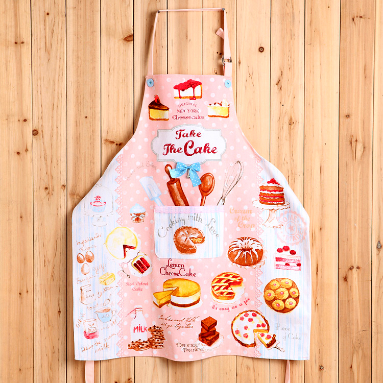 Adult Sweet Donut Cheese Cake Ice Cream Hamburg Party Coffee Time Kitchen Apron Woman Avental Tablier