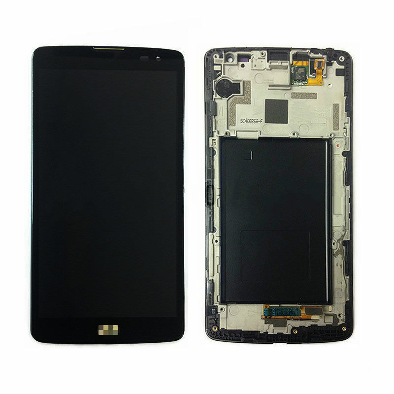 ФОТО For LG G Vista VS880 D631 LCD Display+touch screen con Frame Black with Logo new Replacement In Stock