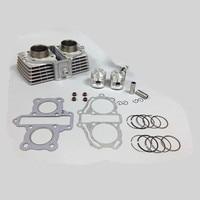 LOPOR 44mm Cylinder KIT & Piston Set & Gasket All Sets For Honda CBT125 125CC CBT 125 Motorcycle Air Cooled