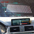 7 Inch GPS Navigation Screen Steel Protective Film For BMW 3 Series Control of LCD Screen Car Styling Sticker