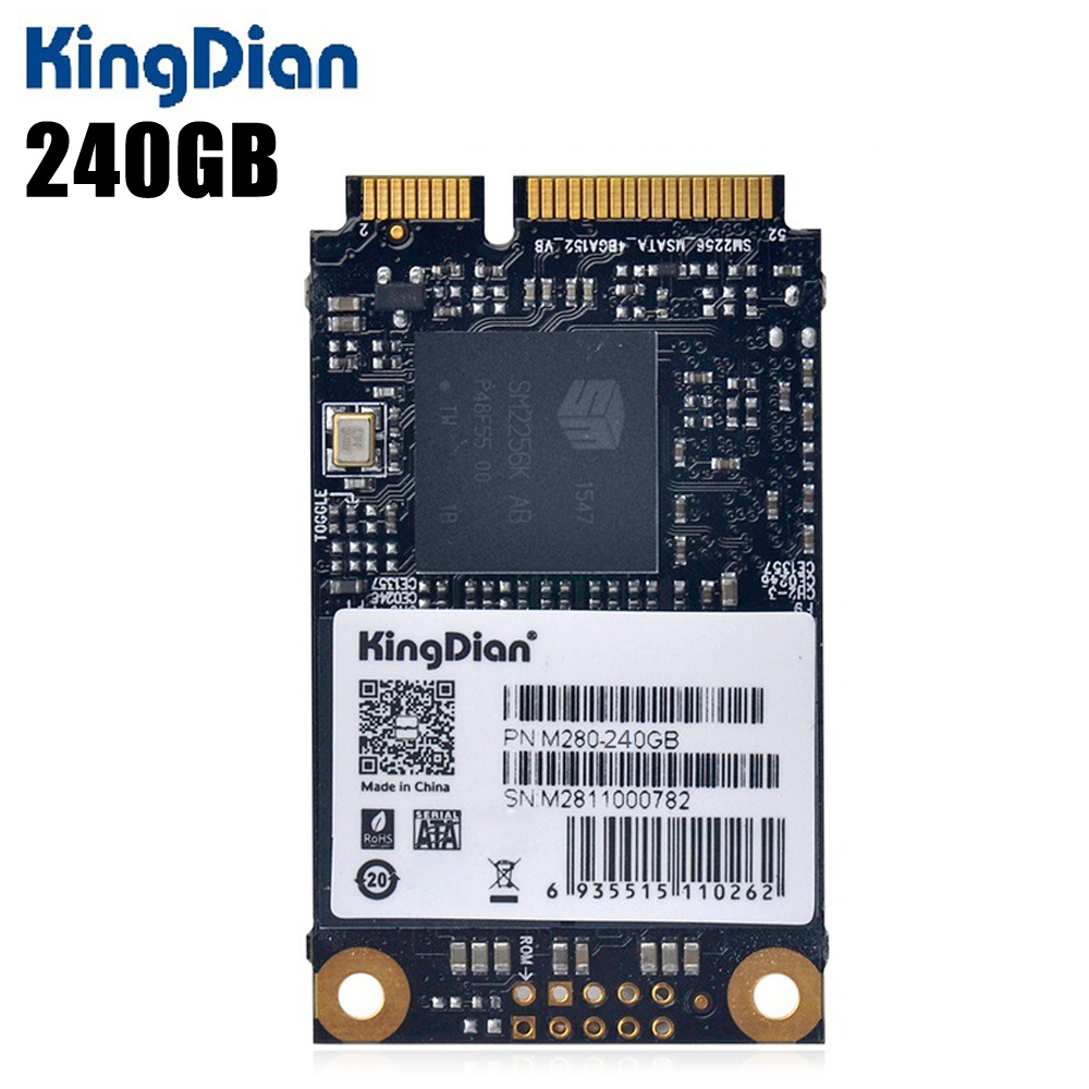 Original KingDian M280 - 120GB 120GB Solid State Drive SSD 2.5 inch MSATA 6Gb/s for Computer Hardware kingfast ssd 128gb sata iii 6gb s 2 5 inch solid state drive 7mm internal ssd 128 cache hard disk for laptop disktop