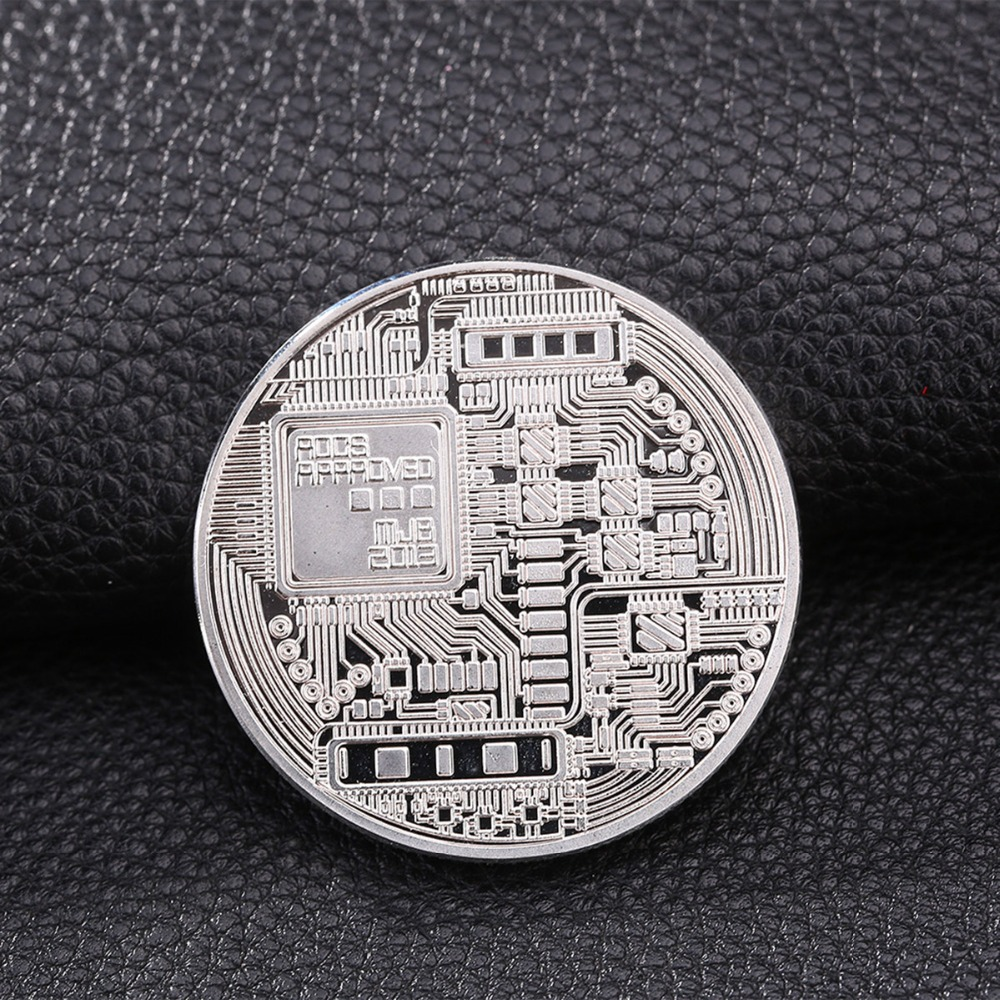 c4155068804 Gold Plated Bitcoin Coin Collectible BTC Coin Art Collection Gift Physical  Metal Antique Imitation Home Decoration Magic Toys-in Magic Tricks from  Toys ...
