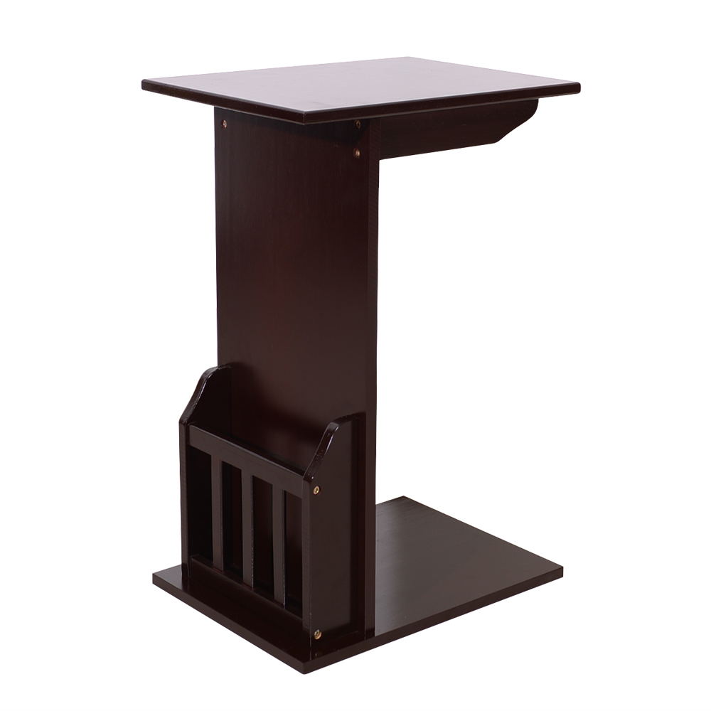 - 40*30*61cm L Shaped Coffee Table Basse Bedside/ Sofa Side Tables