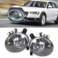 Hot Sale Tracking New Pair Front Right Left Fog Light Lamp For Audi A4 A6 A5