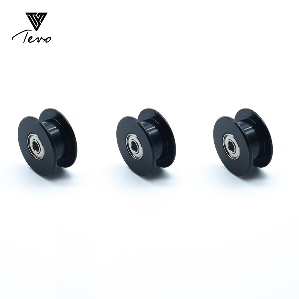 5/10PCS 3D Printer Accessories 20 teeth bore 5mm synchronous wheel pulley 2GT Without tooth gear for 3d printer Idler Pulley