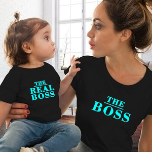 Image 3 - 2019 mommy and me clothes summer mom and daughter matching clothes mother and daughter family outfit t shirt for baby boy girls