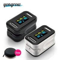 Yongrow Free Shopping Pulse Oximeter CE FDA Fingertip Pulse Oximeter PR SPO2 PI N Best OLED