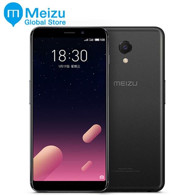 "Original Meizu M6S Exynos 7872 3 GB RAM 64 GB ROM Hexa Core 4G LTE teléfono celular 5,7"" pantalla Completa 16,0 MP Cámara mTouch Android 7,0"