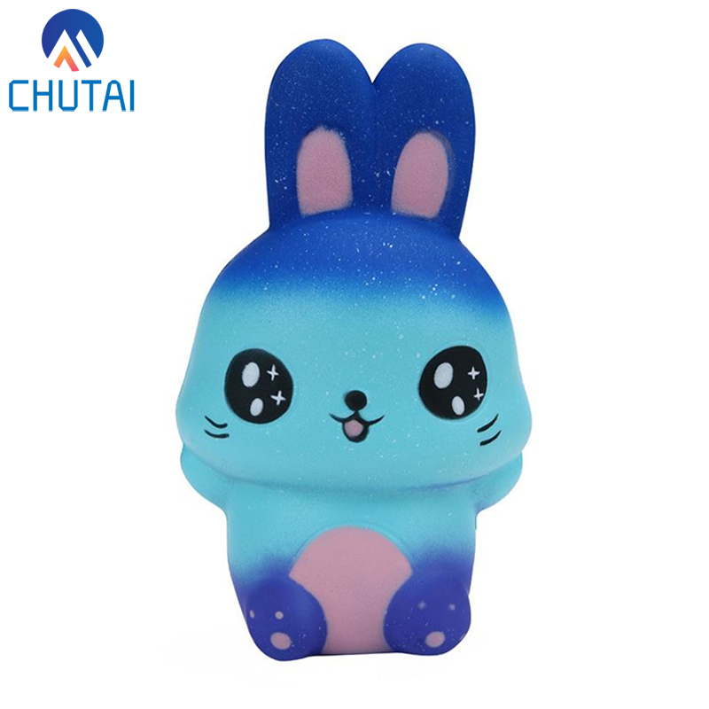 Kawaii Squishy Toys For Kids Starry Rabbit Scented Squeeze Toy Squishies Slow Rising Jumbo Squishi Antistress Kids Toys 15*9*7CM