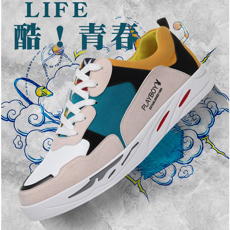 Men's Shoes Autumn New Tide Shoes Casual Wild Sports Shoes Breathable Small White Shoes