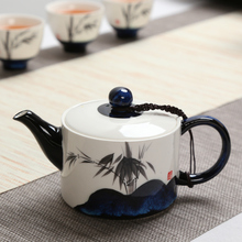 Best Selling Celadon Tea Pots 200ml Chinese Kung Fu Set Ceramic Hand Painted Teapot Gift Safe Packaging G