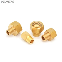 Brass Hose Pipe Fittings F/M 1/8 1/4 3/8 1/2 PT Male to Female Thread Hex Bushing Pipe Fittings Adapter