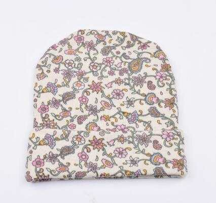 36f4a985c US $1.99 6% OFF|on sale Baby Girl Toddler Infant Children Flower Hat Cotton  Floral Hat Cap Newborn Hats Baby Beanies Cap Hospital Hat 4 Colors-in Hats  ...