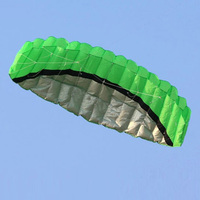 High Quality 2 5m Dual Line Stunt Parafoil Kite Power Soft Kite Outdoor Fun Sports Easy