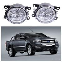 For FORD Ranger 2012 2015 10W High Power Lens Set Light LED Fog Lights Car Styling