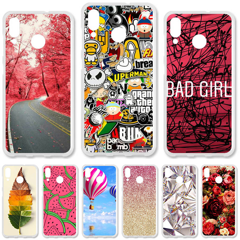 TAOYUNXI Soft TPU Case For Asus Zenfone Max (M1) ZB555KL Cases For Asus Zenfone Max M1 ZB555KL 5.5 inch DIY Painted Covers