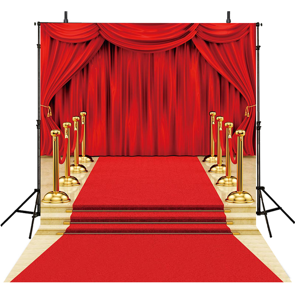 Hot Red Carpet Photography Backdrops Hollywood Backdrop